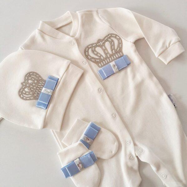 IMG 20171213 035253 930 600x600 - Taş Süslemeli Erkek Bebek Hastane Çıkışı 0-1 Ay