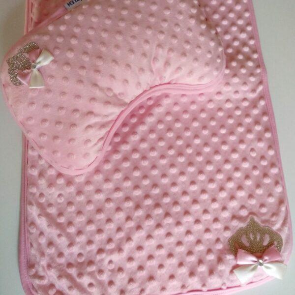 Kız Bebek Taş Süslemeli Alt Açma Örtüsü pembe 01 600x600 - Kız Bebek Taş Süslemeli Alt Açma Örtüsü - pembe