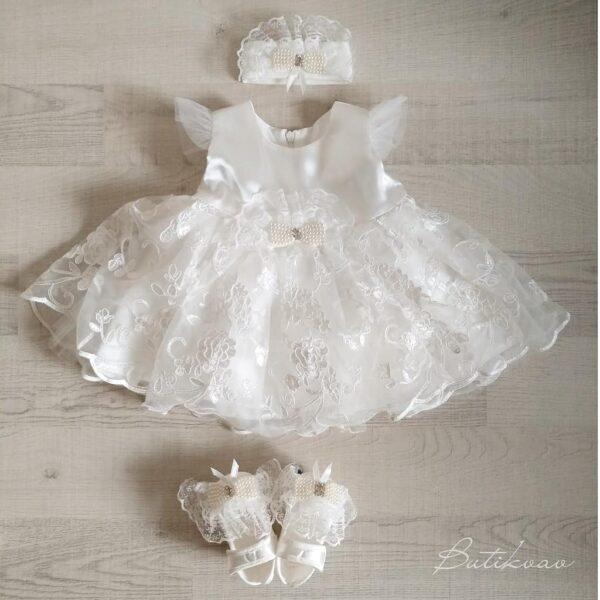 İncili prenses elbise 0 6 ay 01 600x600 - İncili prenses elbise 5'li mevlit seti 0-6 ay