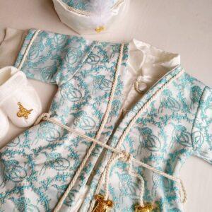 Erkek Bebek Şehzade Kaftan Mevlüt Takımı Açık Mavi 05 300x300 - Erkek Bebek Şehzade Kaftan Mevlüt Takımı - Açık Mavi