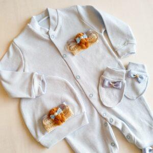 Erkek Bebek Kral Taç Süslemeli Hastane Çıkışı 1 3 ay 04 300x300 - Sevimli Ayıcık Süslemeli Yenidoğan Hastane Çıkışı 1-3 Ay