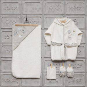 Bebitof Erkek Bebek Bulut Baskılı Bornoz Seti Kopya 01 300x300 - Bebitof Erkek Bebek Bulut Baskılı Bornoz Havlu Seti