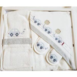 Bebitof Erkek Bebek Tavşan Ailesi Bornoz Seti Mavi Kopya 01 300x300 - Gaye Bebe Erkek Bebek Kanaviçe İşlemeli Bornoz Seti