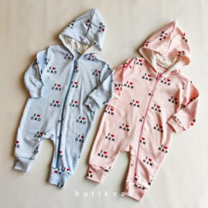 Kız Bebek Erkek Bebek Kapşonlu Tulum 3 ay 01 300x300 - Kız Bebek & Erkek Bebek Kapşonlu Cotton Tulum 3-6 ay