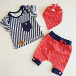 9 12 ay erkek bebek alt ust fular takim 3 lu set kopya 01 300x300 - 12-18 Ay Erkek Bebek Alt Üst Fular Takım 3'lü Set