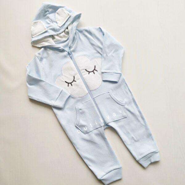 kiz bebek bulut baskili kapsonlu tulum 3 6 ay kopya 01 600x600 - Erkek Bebek Bulut Baskılı Kapşonlu Tulum 0-3 Ay