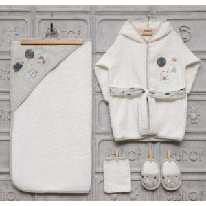 bebitof erkek bebek bulut baskili bornoz seti kopya 01 300x300 - Bebitof Erkek Bebek Bulut Baskılı Bornoz Seti - Lacivert