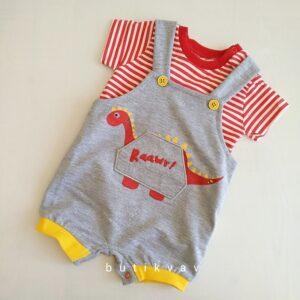erkek bebek dino t shirt tulum seti 3 6 ay 01 300x300 - Erkek Bebek Dino T-shirt Tulum Seti 3-6 Ay